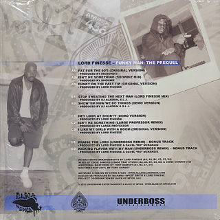 Lord Finesse / Funky Man : The Prequel (2LP) back