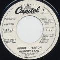 Minnie Riperton / Memory Lane (45)