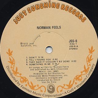 Norman Feels / S.T. label