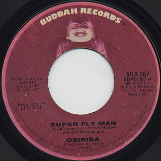 Osibisa / Super Fly Man front