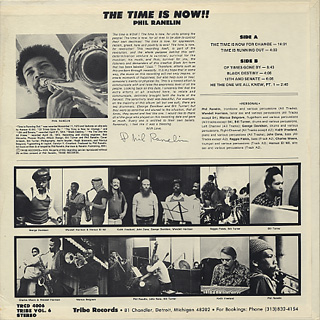 Phil Ranelin / The Time Is Now! back