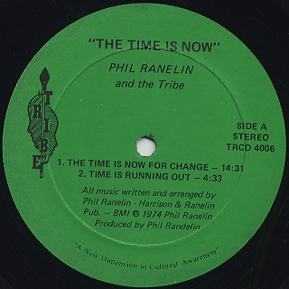 Phil Ranelin / The Time Is Now! label