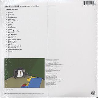 Quasimoto / Further Adventures Of Lord Quas Instrumentals (Color JKT) back