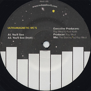 Ray West Presents... Ultramagnetic MC's / You'll See