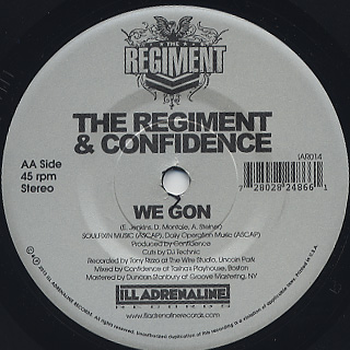 Regiment & Confidence / Yours And Mine back