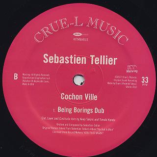 Sebastien Tellier / Cochon Ville back