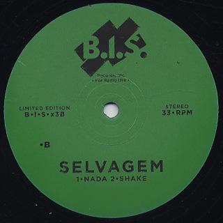 Selvagem / EP back