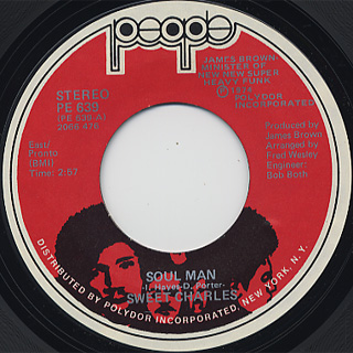 Sweet Charles / Soul Man front