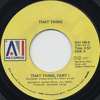 That Thing / That Thing (Part I)