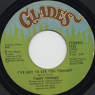 Timmy Thomas / I've Got To See You Tonight