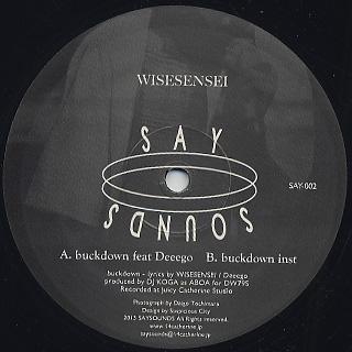 WISESENSEI / Buckdown