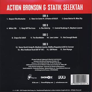 Action Bronson & Statik Selektah / Well Done back