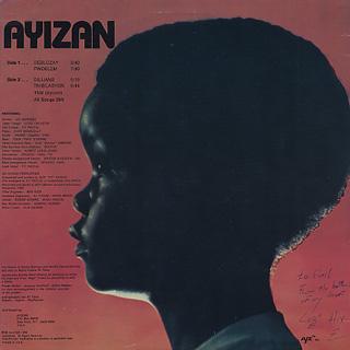 Ayizan / Dilijans back