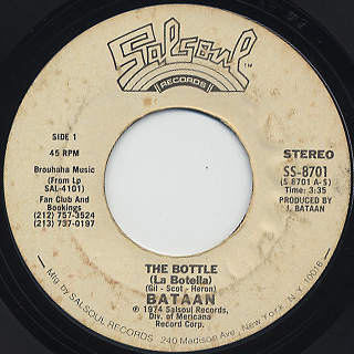 Bataan / The Bottle (La Botella)