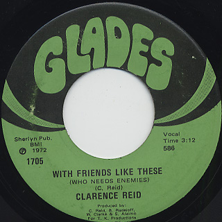 Clarence Reid / Till I Get My Share back