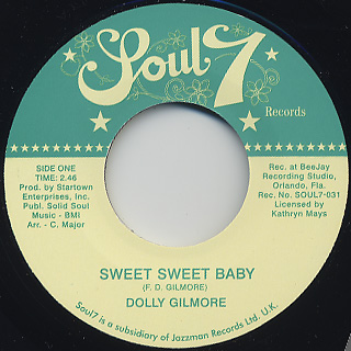 Dolly Gilmore / Sweet Sweet Baby
