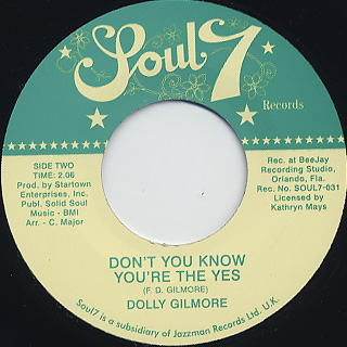 Dolly Gilmore / Sweet Sweet Baby back