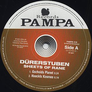 Durerstuben / Sheets Of Rane