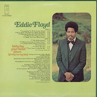 Eddie Floyd / Baby Lay Your Head Down(Gently On My Bed) back