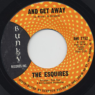 Esquires / And Get Away