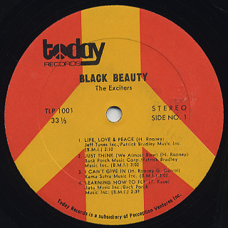 Exciters / Black Beauty label