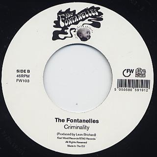 Fontanelles / Pinprick c/w Criminality back