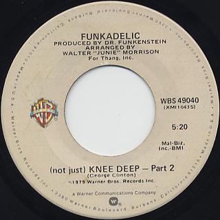 Funkadelic / (Not Just) Knee Deep back