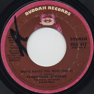 Funkhouse Express / Music Makes You Move