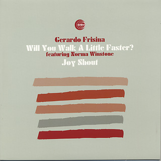 Gerardo Frisina / Will You Walk A Little Faster? front
