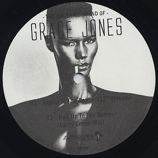 Grace Jones / The Balearic Sound Of… back