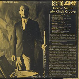 Herbie Mann / My Kinda Groove back
