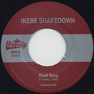 Ikebe Shakedown / The Beast c/w Road Song back