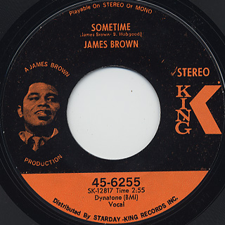 James Brown / Let A Man Come In And Do The Popcorn Part One back