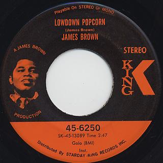 James Brown / Lowdown Popcorn