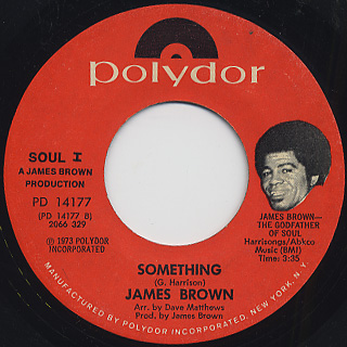 James Brown / Think c/w Something back