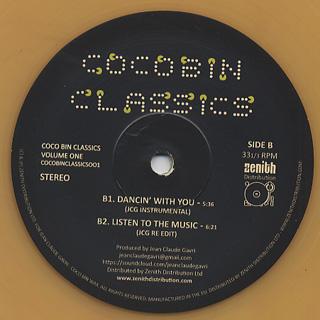 Jean Claude Gavri / Coco Bin Classics Vol.1 back