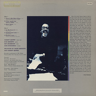 Johnny Griffin / NYC Underground back