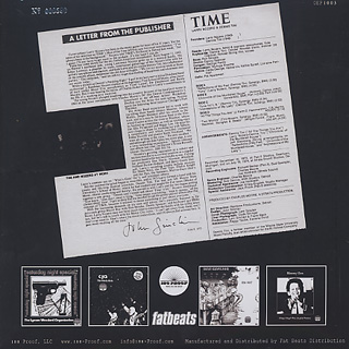 Larry Nozero feat. Dennis Tini / Time (Limited 2LP) back
