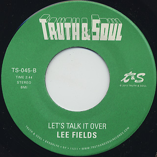 Lee Fields / Fought For Survival back