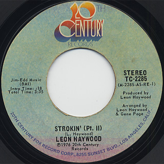 Leon Haywood / Strokin' back