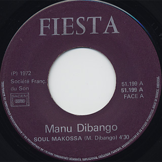 Manu Dibango / Soul Makossa (French Press) front