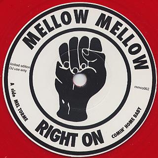 Mel Torme / Comin Home Baby c/w Garfield Flemming / Don't Send Me Away