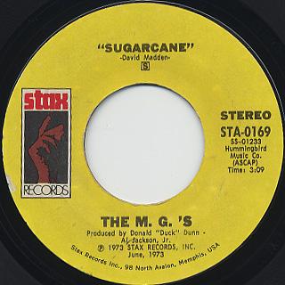 M.G.'s / Sugarcane