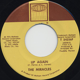 Miracles / Don't Cha Love It (45) back