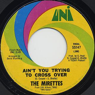 Mirettes / Whirlpool back