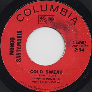 Mongo santamaria / Cold Sweat
