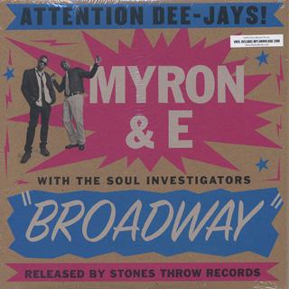Myron & E with The Soul Investigators / Broadway
