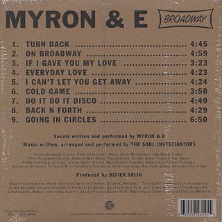 Myron & E with The Soul Investigators / Broadway back