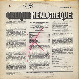 Neal Creque / Creque back