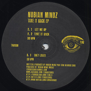 Nubian Mindz / Take It Back EP